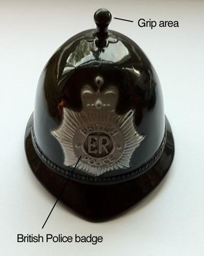 British Police Helmet Bell Pencil Sharpener